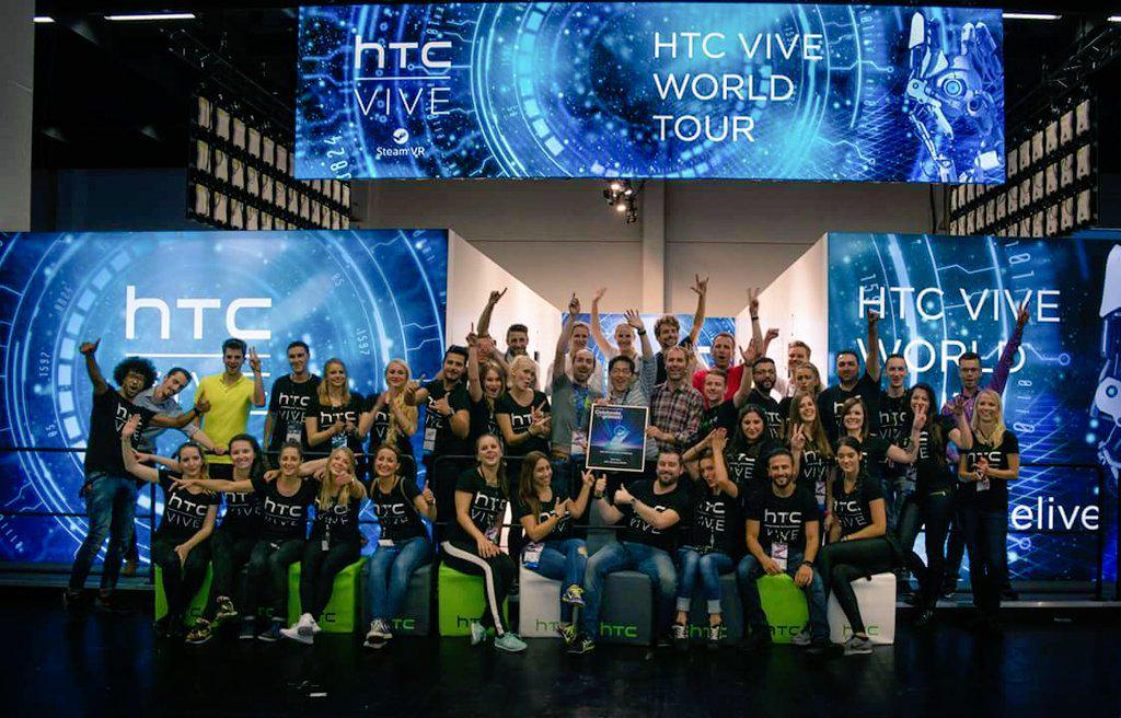 HTC met award op gamescom