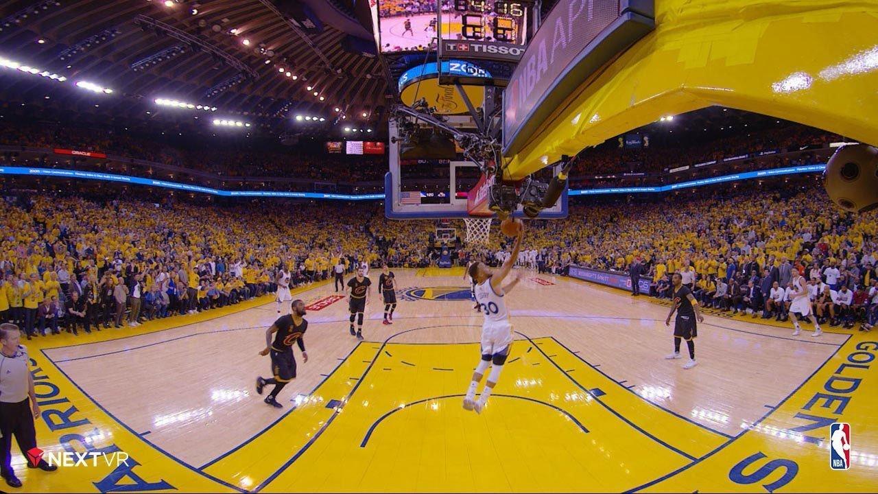 Virtuele demonstratie NBA
