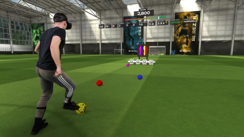 virtual reality in de sport voetbal