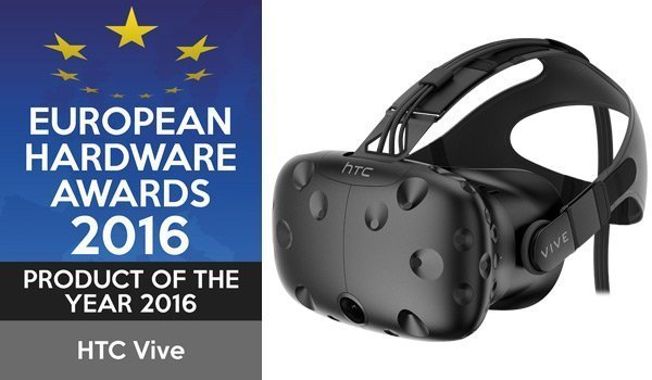 HTC VIVE product of the year award