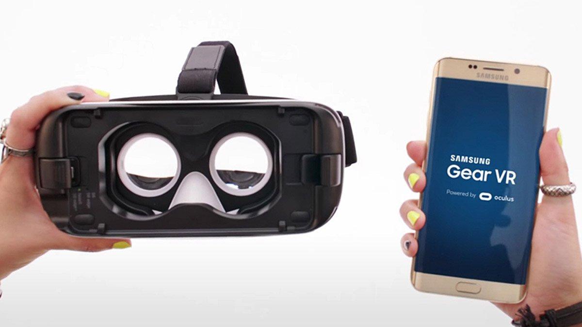 Galaxy s7 en VR