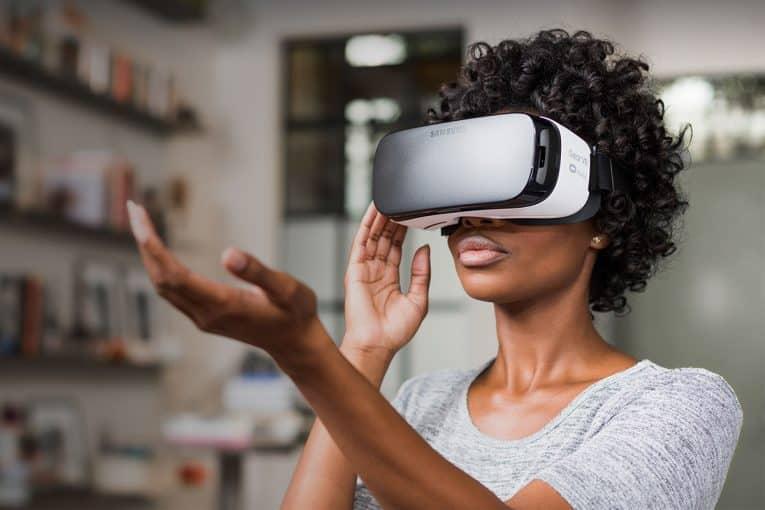 Gear VR in gebruik