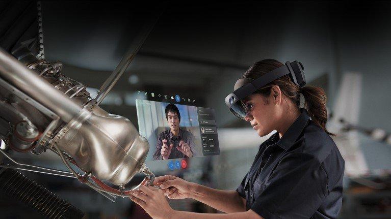 VR Expert Hololens 2 industrie