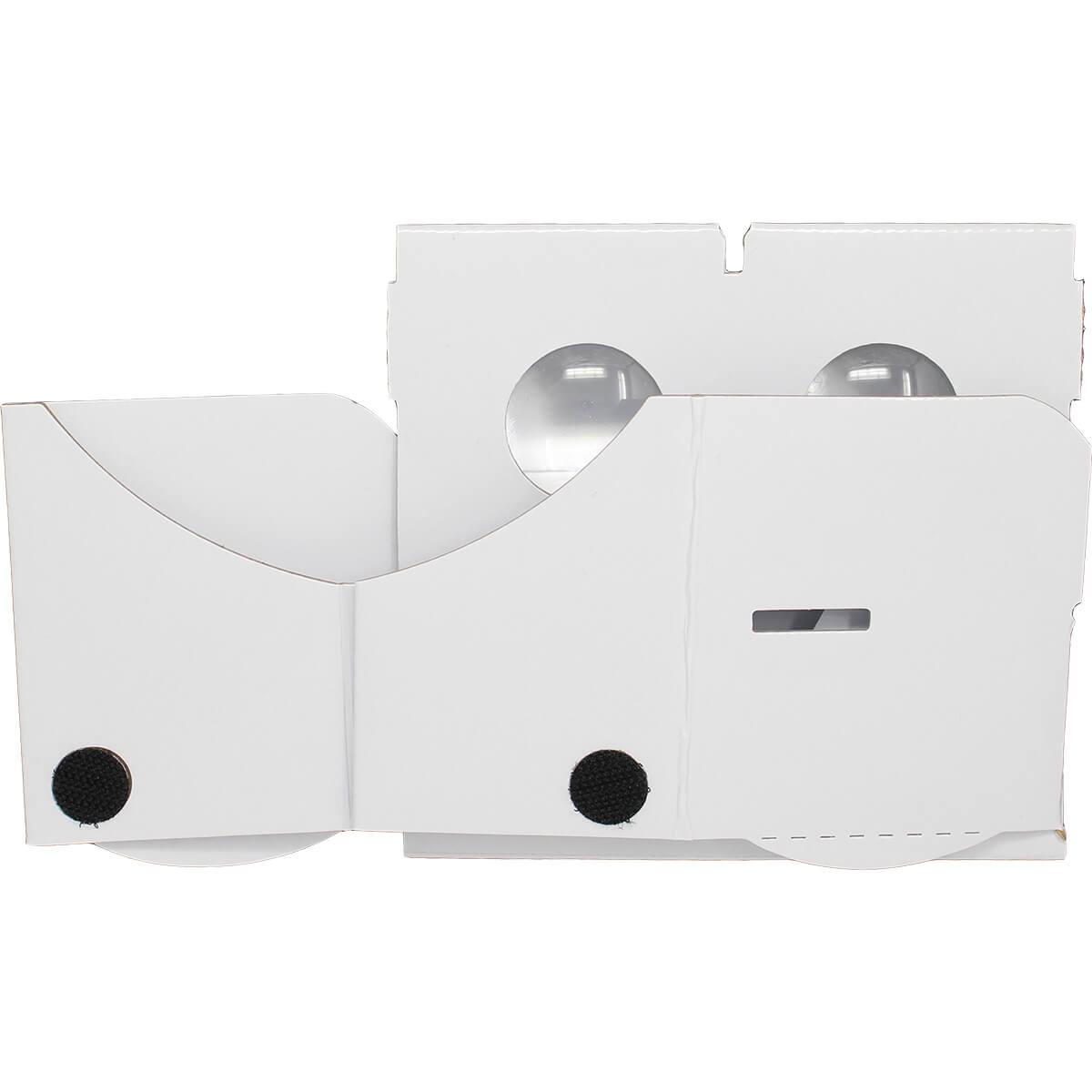 Wit cardboard vr bril Kopen