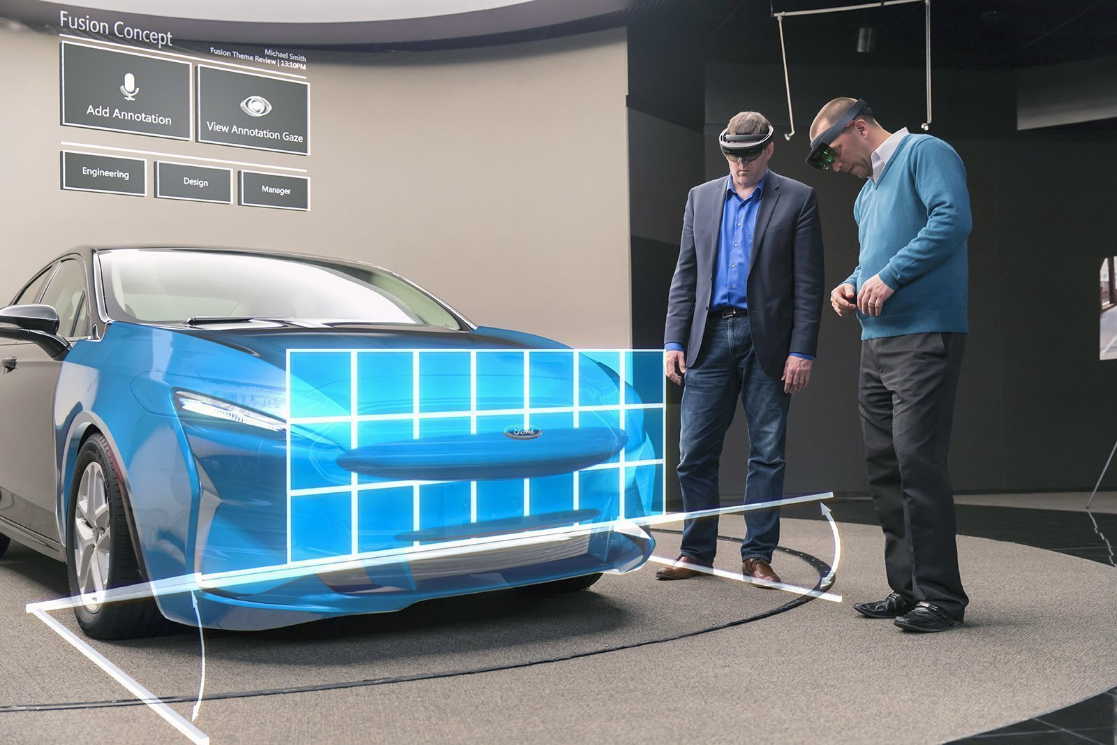 VR Expert Hololens ford check