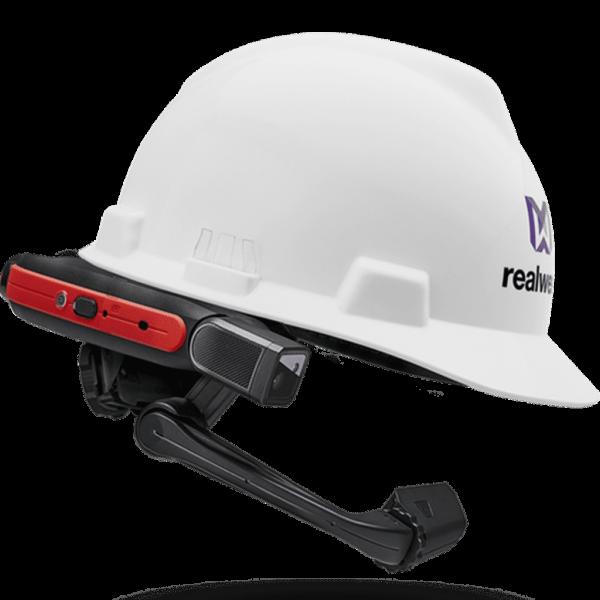 VR Expert Realwear HMT-1z1 met helm