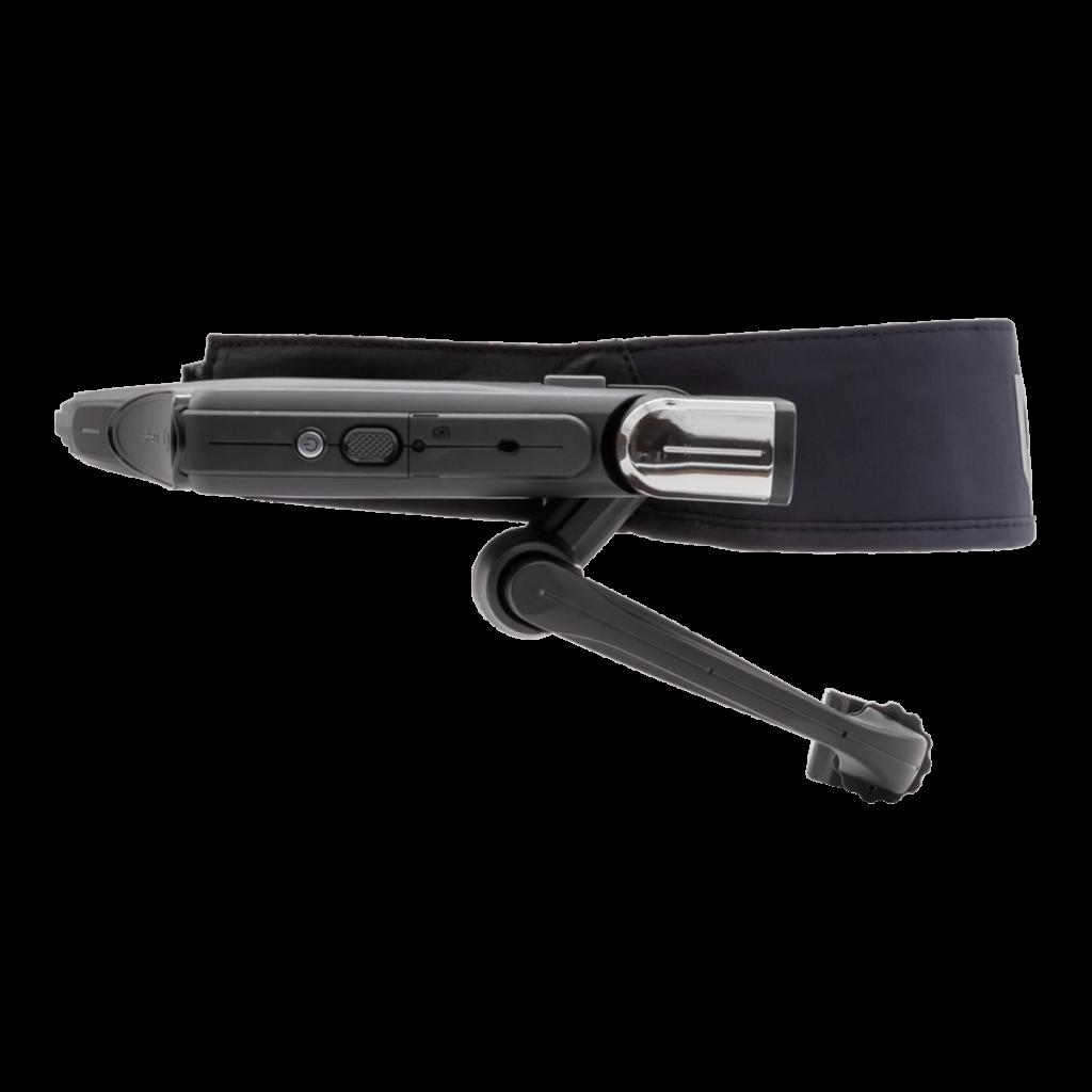 VR Expert RealWear HMT-1 zijkant met workband