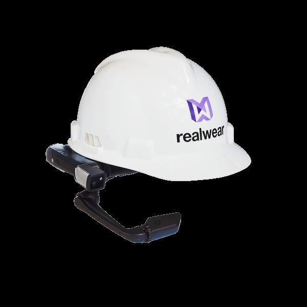 VR Expert RealWear HMT-1 met helm