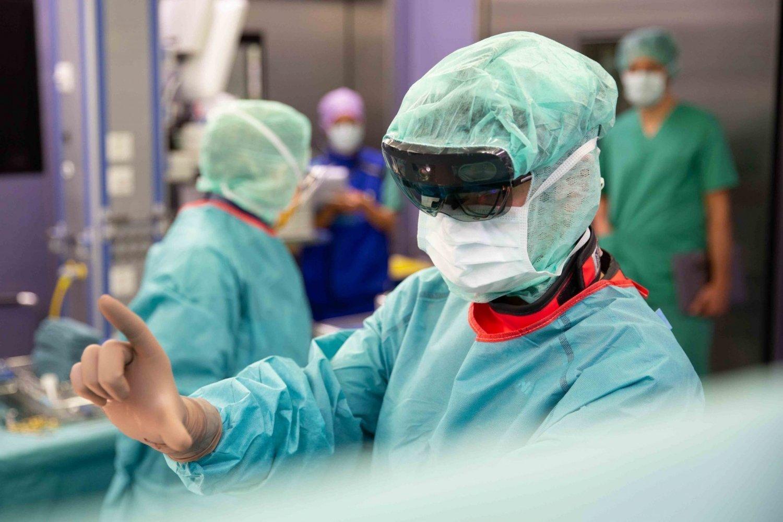 VR Expert HoloLens 2 in medische omgeving