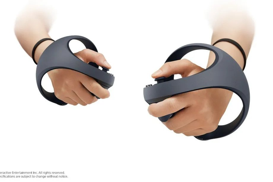VR controllers PS5