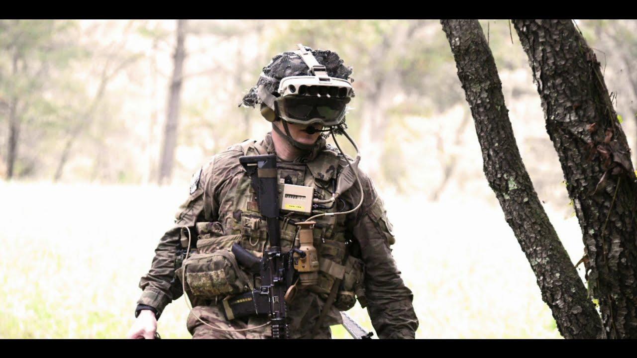 VR Expert US millitary AR headset training