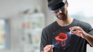 Microsoft Hololens Holograph demo