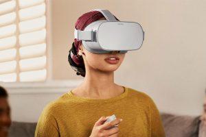 VR expert Oculus Go gebruiker